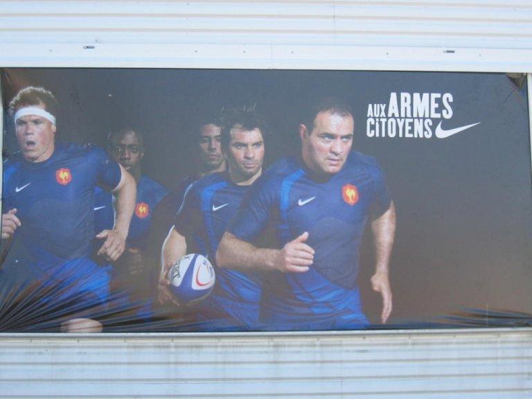 Une publicité de NIKE sur le rugby : nique ou panique